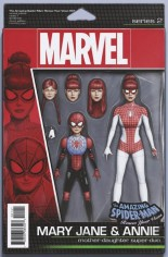 Amazing Spider-Man: Renew Your Vows (2017-2018) #1 Variant D: Action Figure Variant