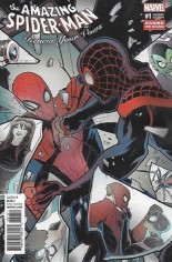 Amazing Spider-Man: Renew Your Vows (2017-2018) #1 Variant E: Divided We Stand Variant