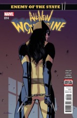 All-New Wolverine (2016-Present) #14 Variant A