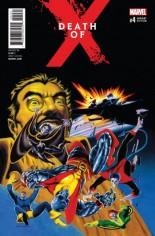 Death Of X (2016-2017) #4 Variant C