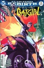 Batgirl (2016-2020) #5 Variant B: Variant Cover