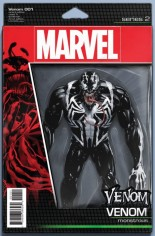 Venom (2017-2018) #1 Variant E: Action Figure Variant Cover