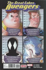 Great Lakes Avengers (2016-Present) #2 Variant A