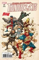 Thunderbolts (2016) #7 Variant C: Story Thus Far Variant