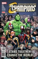 Champions (2016) #3 Variant A