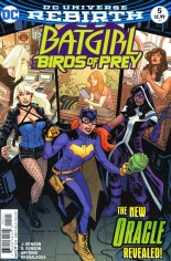 Batgirl and the Birds of Prey (2016-2018) #5 Variant A