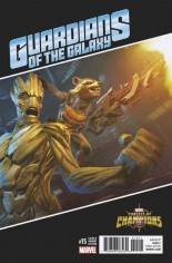 Guardians of the Galaxy (2015-2017) #15 Variant D: Games Variant