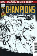 Champions (2016) #1 Variant T: Df Exclusive B&W