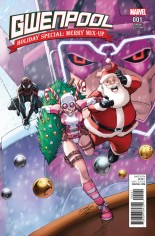 Gwenpool Holiday Special Merry Mix Up #1 Variant B