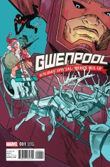 Gwenpool Holiday Special Merry Mix Up #1 Variant C
