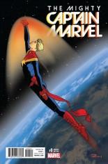 Mighty Captain Marvel #0 Variant B