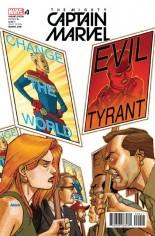 Mighty Captain Marvel #0 Variant D: Johnson Variant