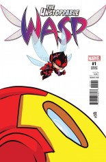 Unstoppable Wasp (2017) #1 Variant F