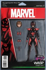 Unstoppable Wasp (2017) #1 Variant C: Action Figure Variant