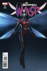 Unstoppable Wasp (2017) #1 Variant D: Movie Variant