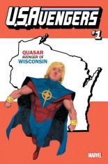 U.S. Avengers #1 Variant ZZC: Wisconsin State Variant