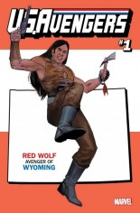 U.S. Avengers #1 Variant ZZD: Wyoming State Variant