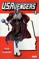 U.S. Avengers #1 Variant ZZE: Alabama State Variant