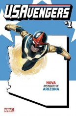 U.S. Avengers #1 Variant ZZH: Arizona State Variant