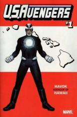 U.S. Avengers #1 Variant O: Hawaii State Variant