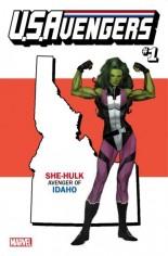 U.S. Avengers #1 Variant P: Idaho State Variant