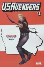 U.S. Avengers #1 Variant S: Iowa State Variant