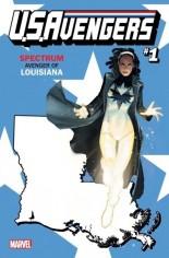 U.S. Avengers #1 Variant V: Louisiana State Variant