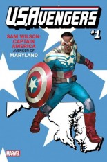 U.S. Avengers #1 Variant X: Maryland State Variant