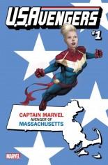 U.S. Avengers #1 Variant Y: Massachusetts State Variant