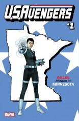 U.S. Avengers #1 Variant ZA: Minnesota State Variant