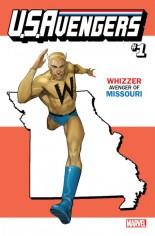 U.S. Avengers #1 Variant ZC: Missouri State Variant