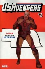 U.S. Avengers #1 Variant ZE: Nebraska State Variant