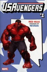 U.S. Avengers #1 Variant ZF: Nevada State Variant