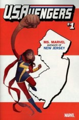 U.S. Avengers #1 Variant ZH: New Jersey State Variant