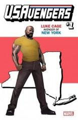 U.S. Avengers #1 Variant ZJ: New York State Variant