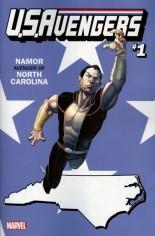 U.S. Avengers #1 Variant ZK: North Carolina State Variant