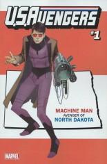 U.S. Avengers #1 Variant ZL: North Dakota State Variant