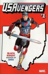 U.S. Avengers #1 Variant ZM: Ohio State Variant
