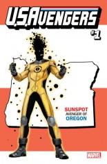 U.S. Avengers #1 Variant ZO: Oregon State Variant