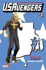 U.S. Avengers #1 Variant ZR: Rhode Island State Variant