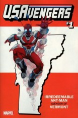 U.S. Avengers #1 Variant ZX: Vermont State Variant