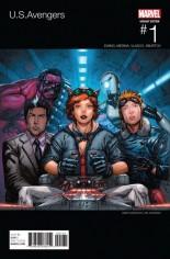 U.S. Avengers #1 Variant B: Hip Hop Variant