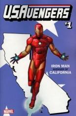 U.S. Avengers #1 Variant I: California State Variant