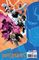 Uncanny Inhumans (2015-Present) #18 Variant B: IVX Variant