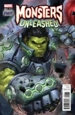 Monsters Unleashed (2017) #1 Variant F