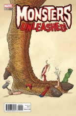 Monsters Unleashed (2017) #1 Variant G
