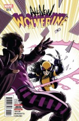 All-New Wolverine (2016-Present) #17 Variant A
