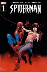 Spider-Man (2019-2021) #1 Variant O: Wal-Mart Exclusive