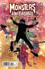 Monsters Unleashed (2017) #3 Variant A