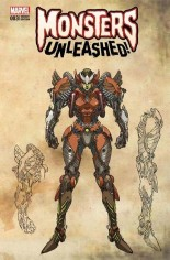 Monsters Unleashed (2017) #3 Variant F